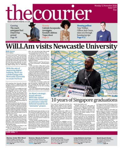 fccdc79abd Courier 1377 by The Courier Online - issuu