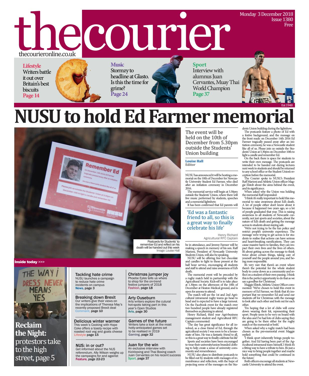 4e499304d7f5 Courier 1380 by The Courier Online - issuu