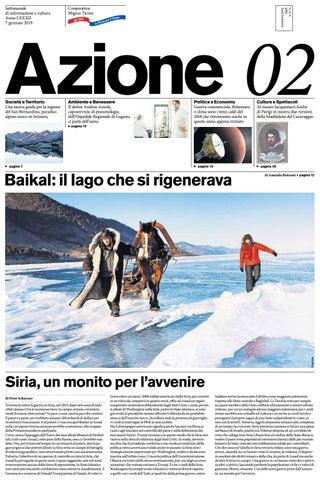 Azione 02 Del 7 Gennaio 2019 By Azione Settimanale Di Migros Ticino