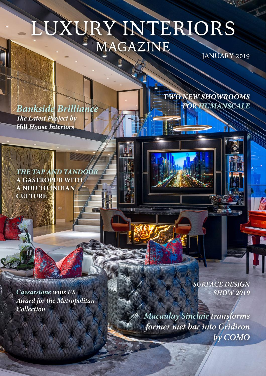 Interior Design Homes Winter 2019: January 2019 By Lapthorn Media