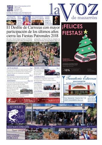 70a467c78ac Voz470 by La Voz de Mazarrón (Periódico) - issuu