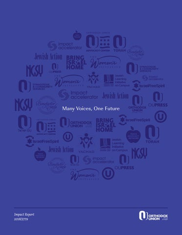 OU Impact Report 2018 by Orthodox Union - issuu