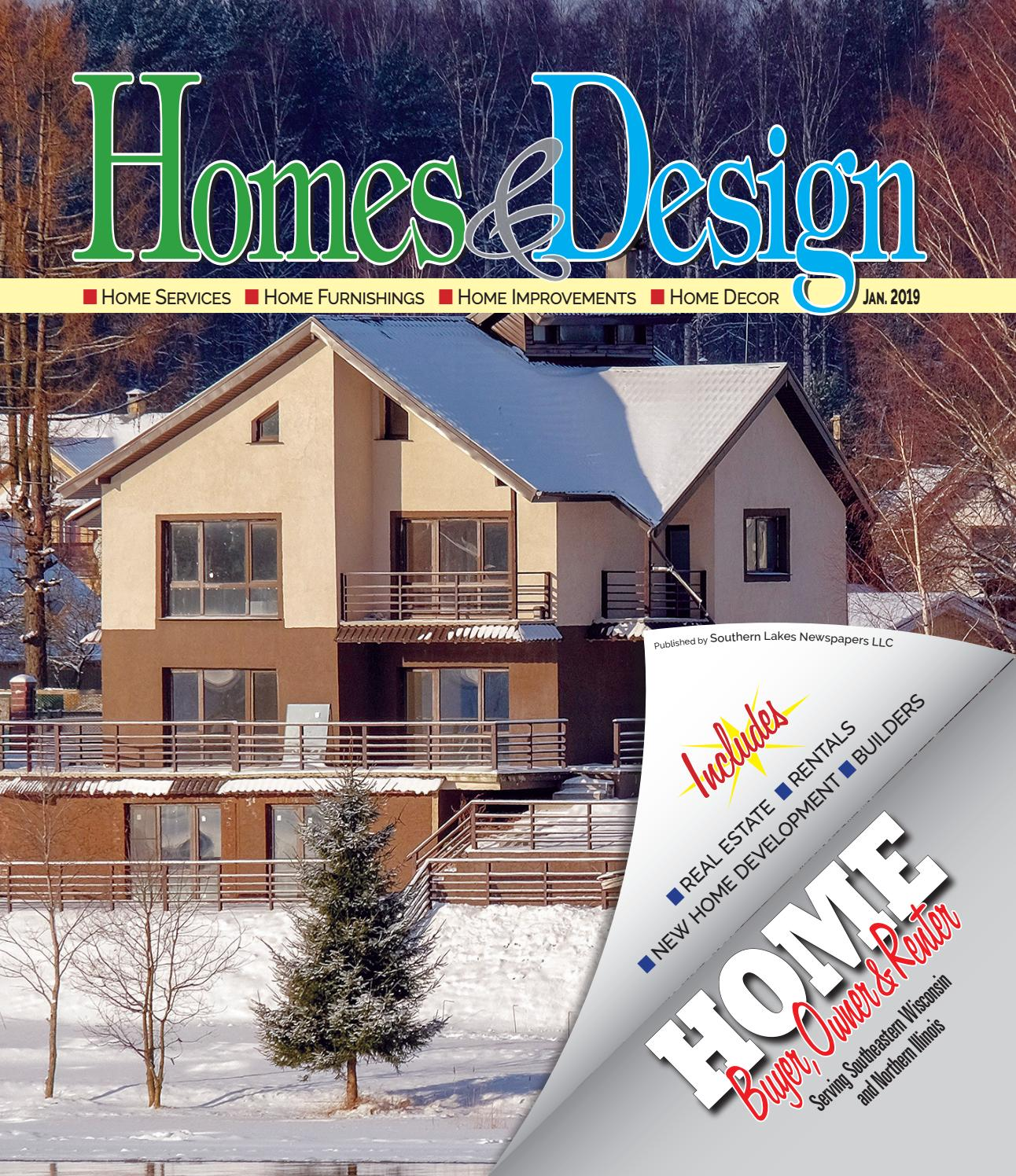 Homes & Design/Home Buyer for January 2019 by Southern Lakes