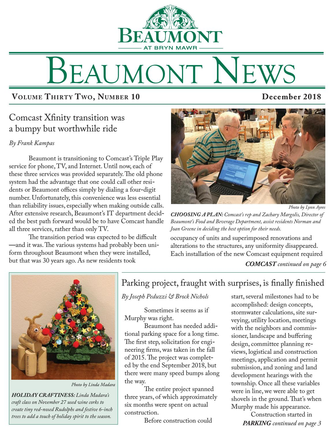 Beaumont News December 2018 by Articus, Ltd  - issuu