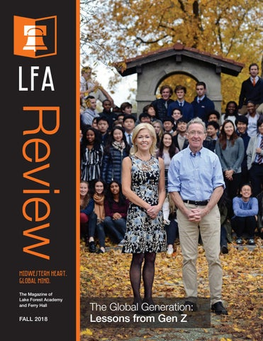 Lfa Review December 2018 By Lake Forest Academy Issuu