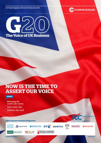 The Official ICC UK G20 Global Influence Project  by The CAT