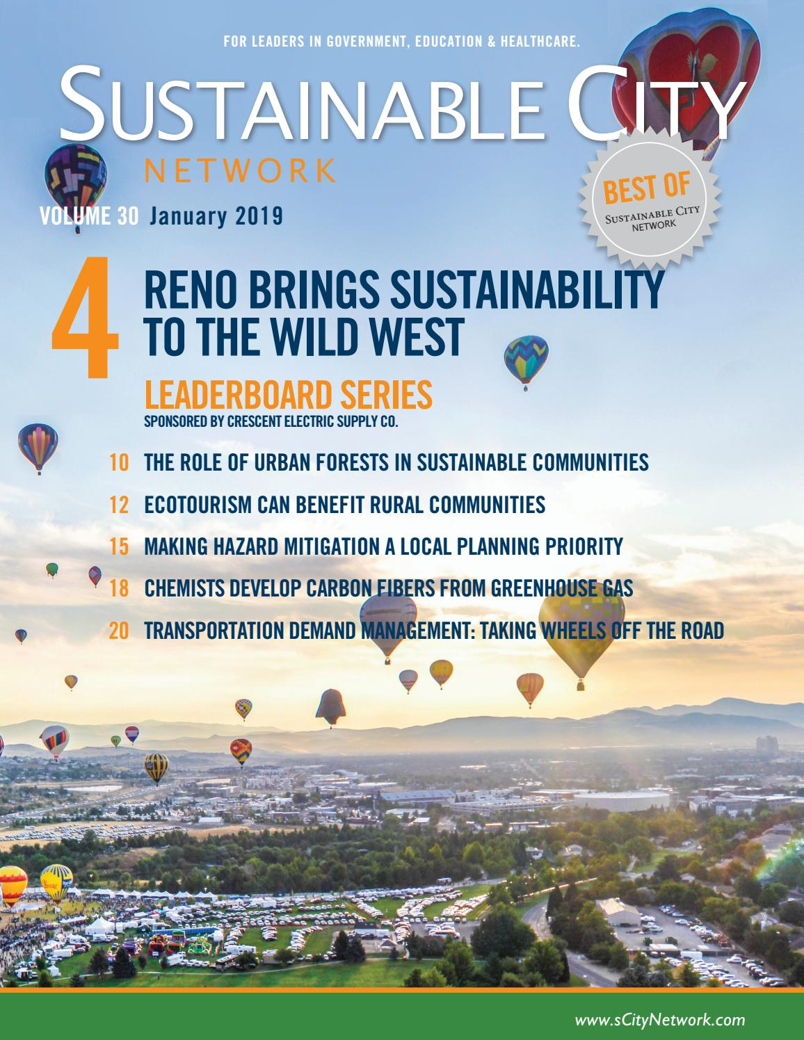 Sustainable City Network Magazine Vol  30 by Sustainable