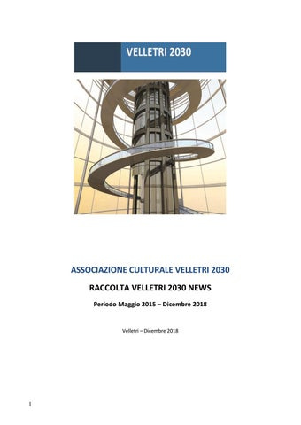 Raccolta news 2018 by velletri2030   issuu