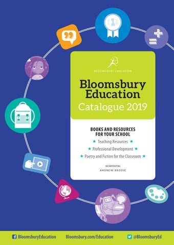 Bloomsbury Education Catalogue 2019 By Bloomsbury Publishing