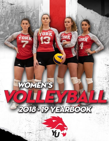 79193a5b 2018-19 Women's Volleyball Yearbook by yorkulions - issuu