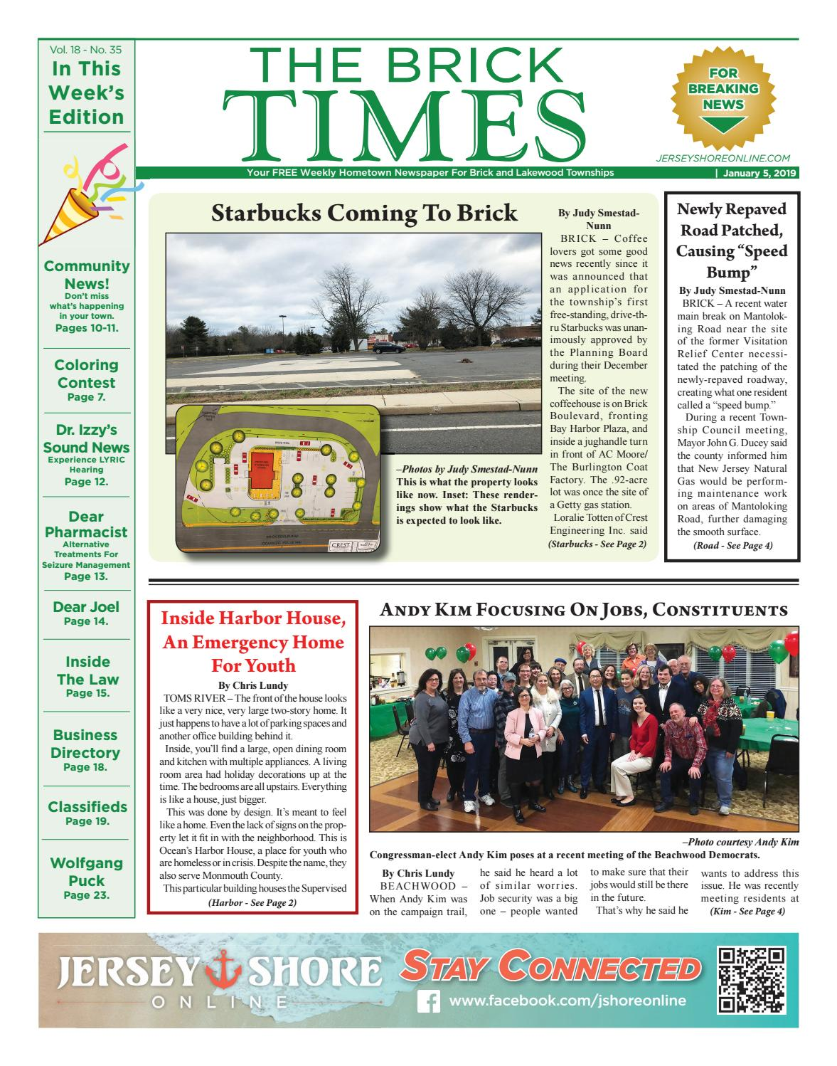 f03c3496cd 2019-01-05 - The Brick Times by Micromedia Publications/Jersey Shore Online  - issuu