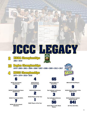 reputable site 7a813 d8054 2018-19 JCCC Men s Basketball Guide by Chris Gray - issuu
