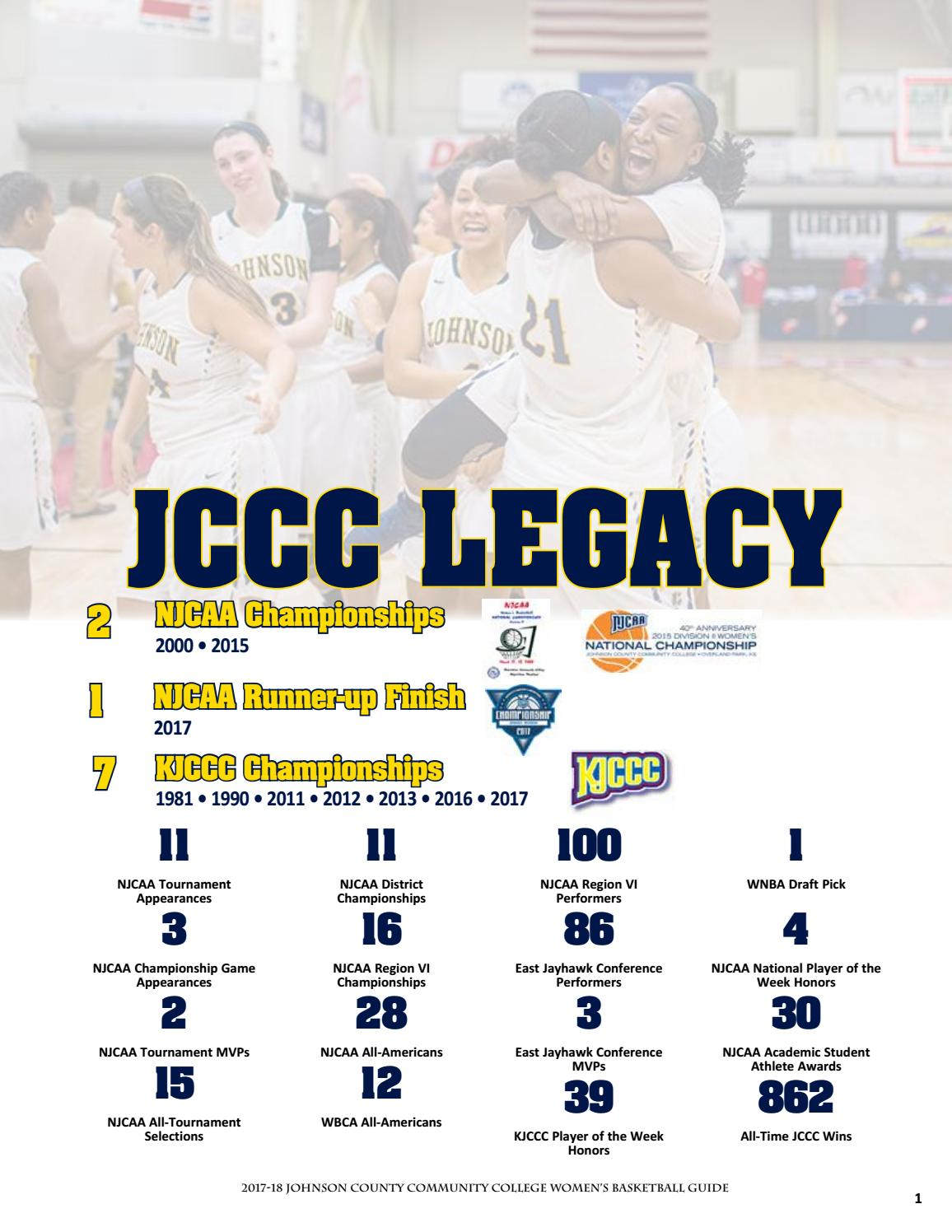 b3b8dd3fa4de 2018-19 JCCC Women s Basketball Guide by Chris Gray - issuu