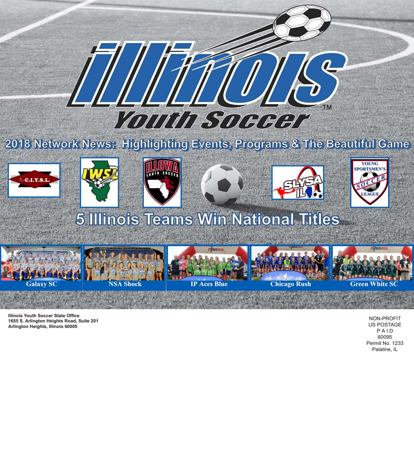 8526bebc260 2018 Illinois Youth Soccer Network News by Illinois Youth Soccer - issuu