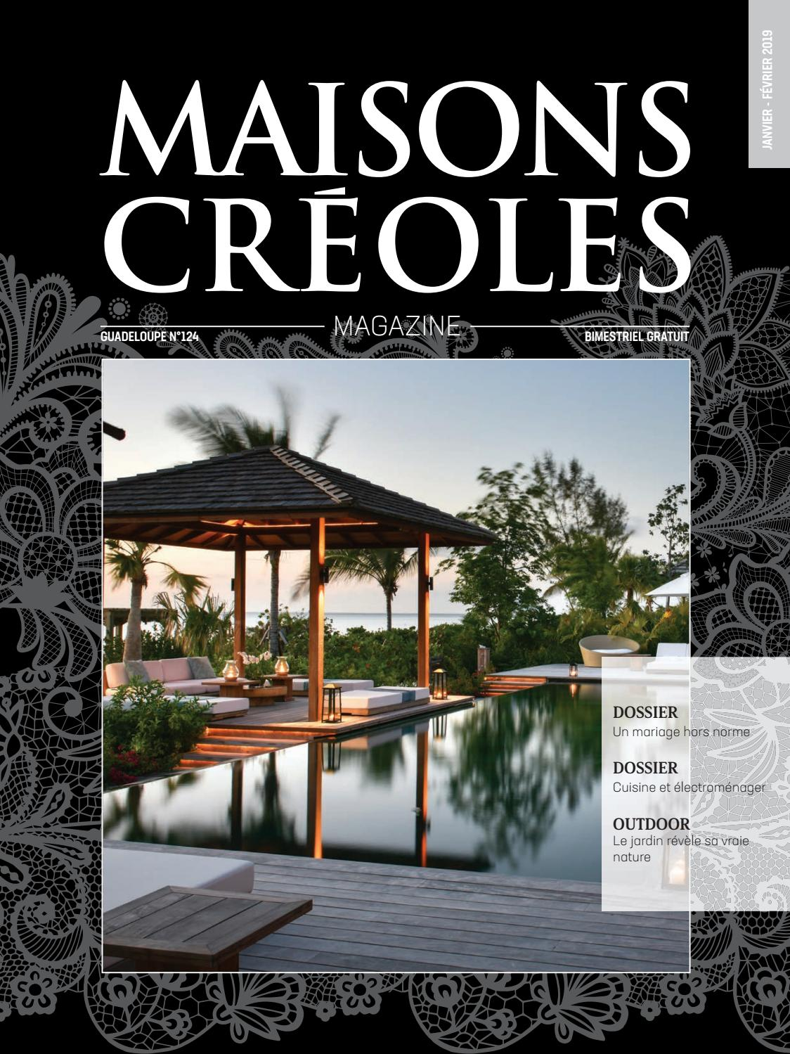 Magazine Maisons Créoles N°124 Guadeloupe By Maisons Creoles   Issuu