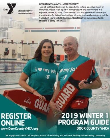 22583b8d4e6b Door County YMCA Winter 1 2019 Program Guide by YMCA Marketing - issuu