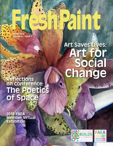 FAEA Fresh Paint Winter 2018-2019 by Center for Fine Arts