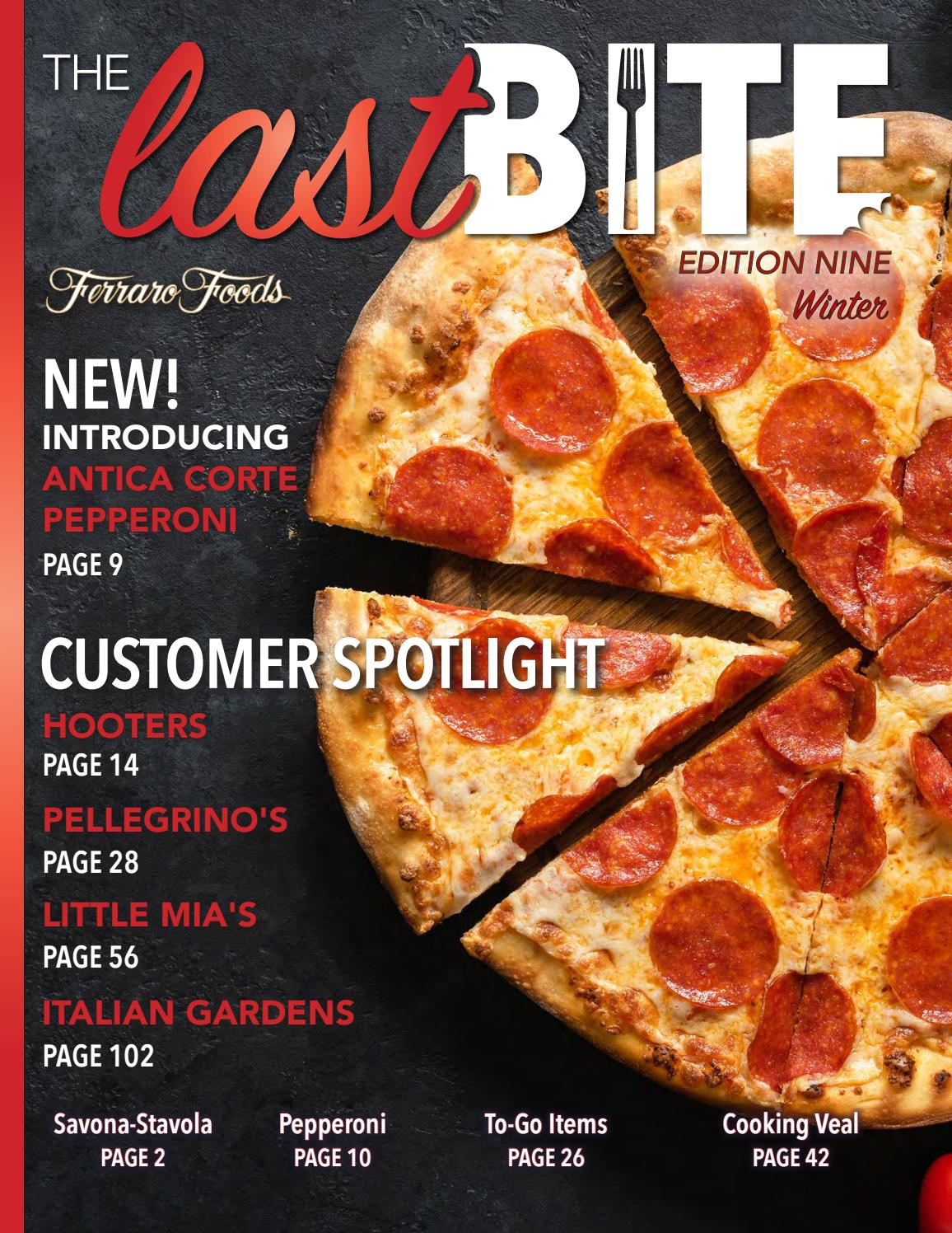 The Last Bite: Edition 9 by The Last Bite - issuu