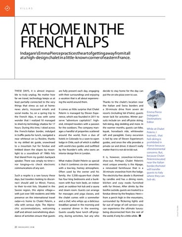 Page 22 of At Home in the French Alps