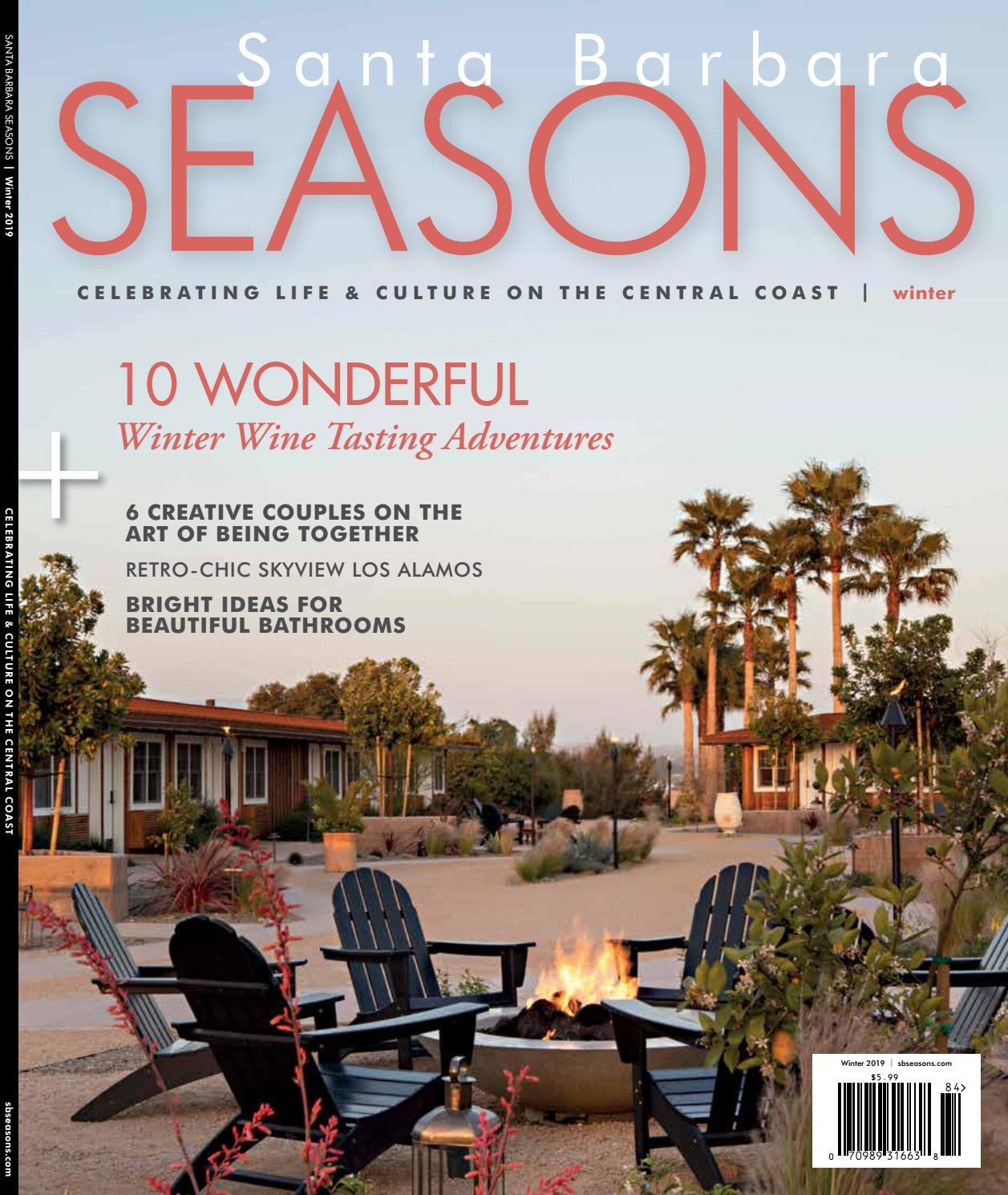 Santa Barbara Seasons Magazine Winter 2019 Issue By