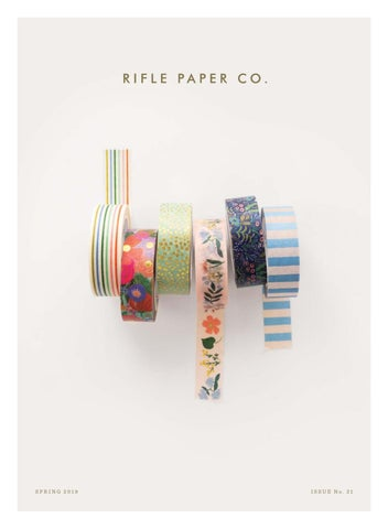 Rifle Paper Co  Spring 2019 by daniel*richards - issuu
