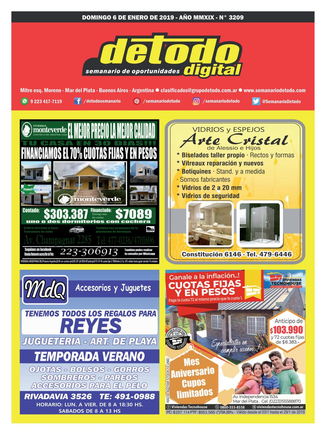 3d9b7538 Semanario Detodo - Edición N° 3209 - 06/01/2019 by Semanario Detodo - issuu