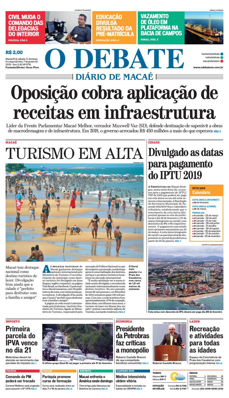ca385f46b Edição 9716 05-06-07-01-2019 by O DEBATE Diario de Macae - issuu