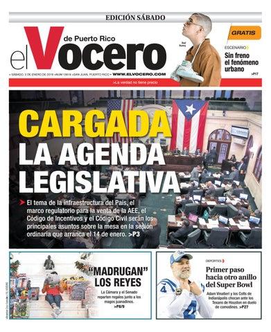 Edición  5 de enero de 2019 by El Vocero de Puerto Rico - issuu ce00239732c