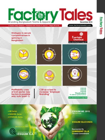 Factory Tales December 2018 by Textile Today - issuu