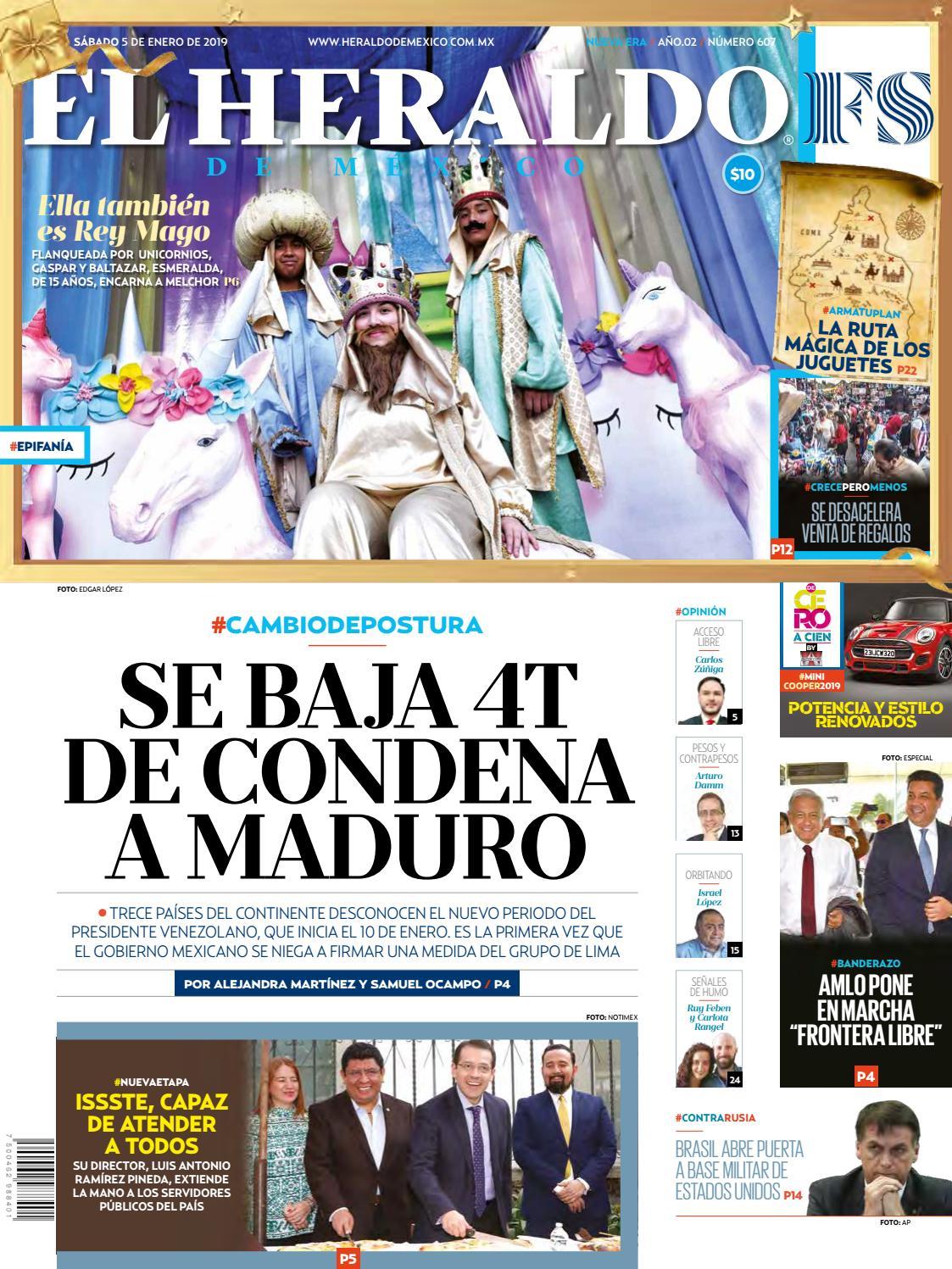 5 de enero de 2019 by El Heraldo de México - issuu ee6f2142c8e
