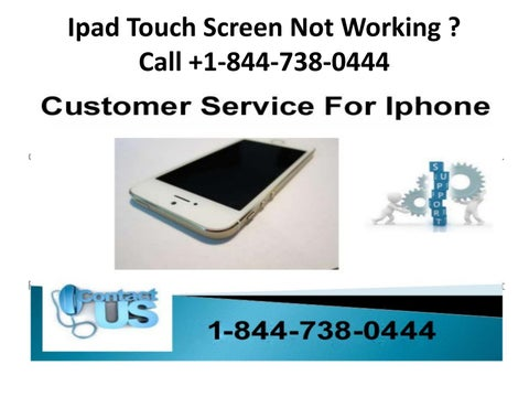 Iphone Screen Unresponsive To Touch