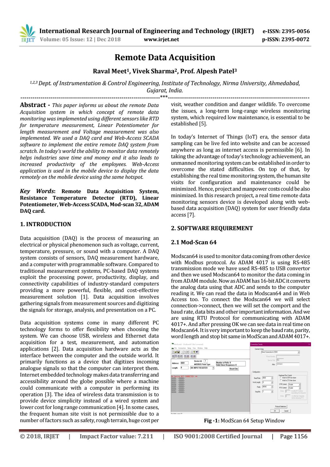 IRJET- Remote Data Acquisition by IRJET Journal - issuu
