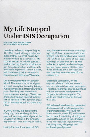 Page 9 of My Life Stopped Under ISIS Occupation