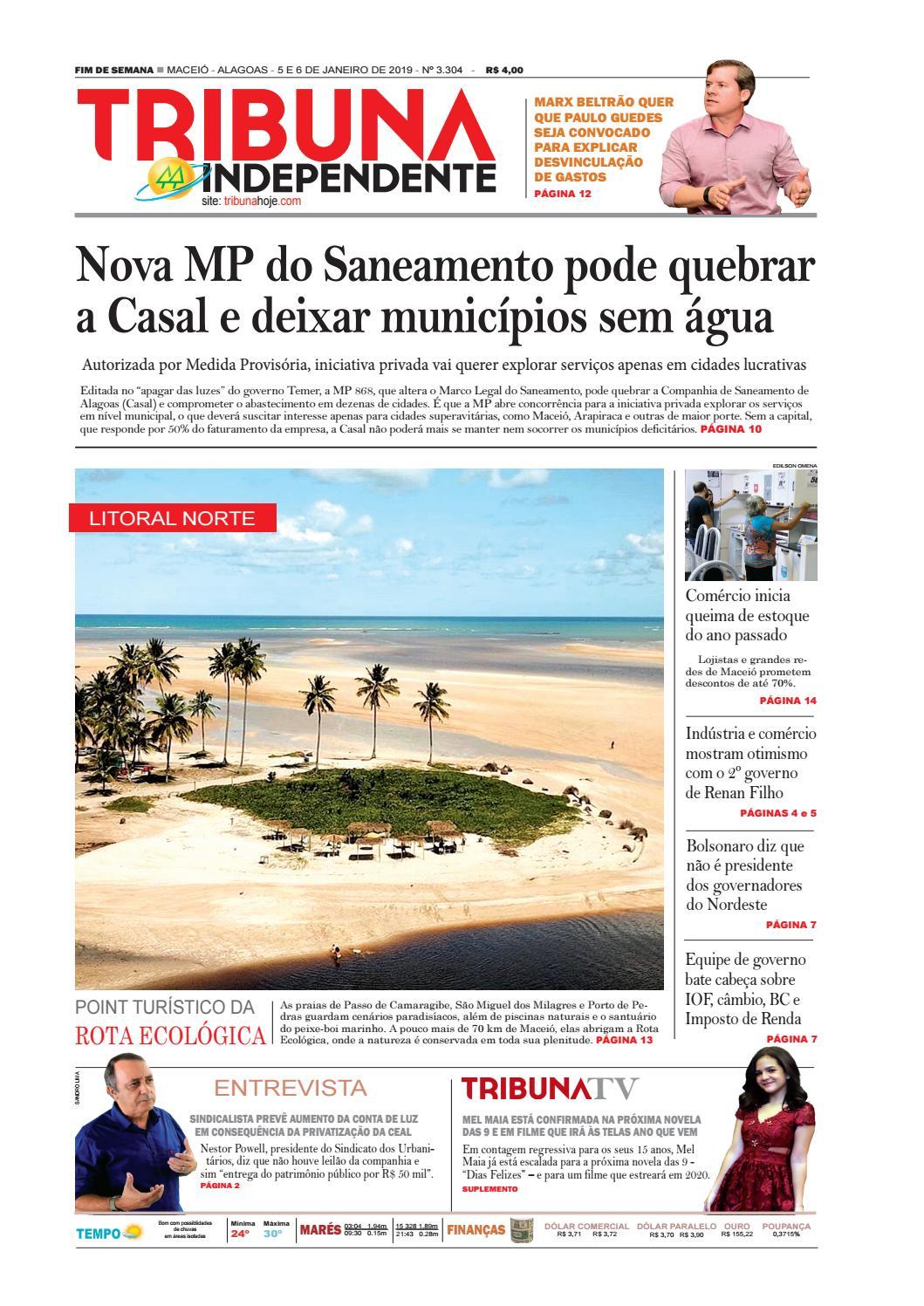 c879aa9416b Edição número 3304 - 5 e 6 de janeiro de 2019 by Tribuna Hoje - issuu
