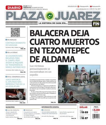 05-01-19 by Diario Plaza Juárez - issuu bdac5ca7f7be