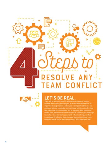Page 18 of 4 Steps to Resolve Team Conflict