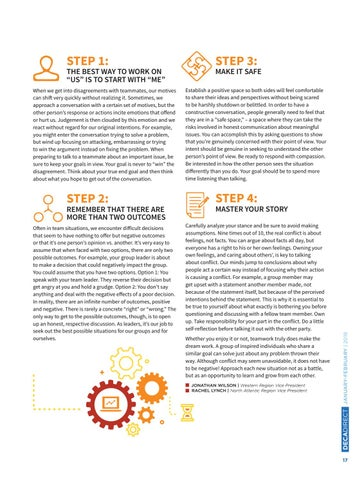 Page 19 of 4 Steps to Resolve Team Conflict