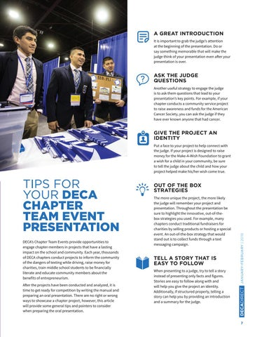 Page 9 of Tips For Your DECA Team Event Presentation