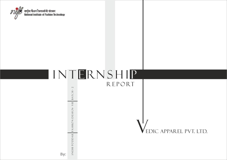 Internship Project Vedic Apparel Pvt Ltd By Snehi Issuu