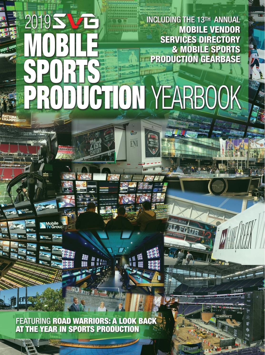 2019 SVG Mobile Sports Production Yearbook by Sports Video