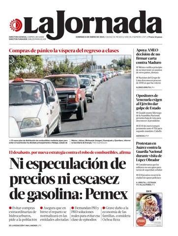 finest selection 7683f 49b94 La Jornada, 01 06 2019 by La Jornada  DEMOS Desarrollo de Medios SA ...