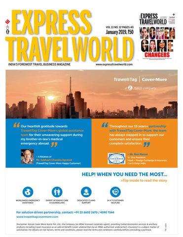 Express TravelWorld (Vol 13 No 12) January, 2019 by Indian