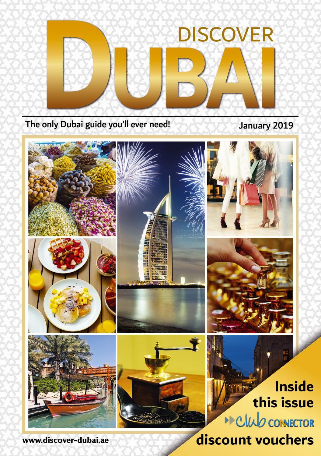 January 2019 Discover Dubai by Connector Publishing - issuu