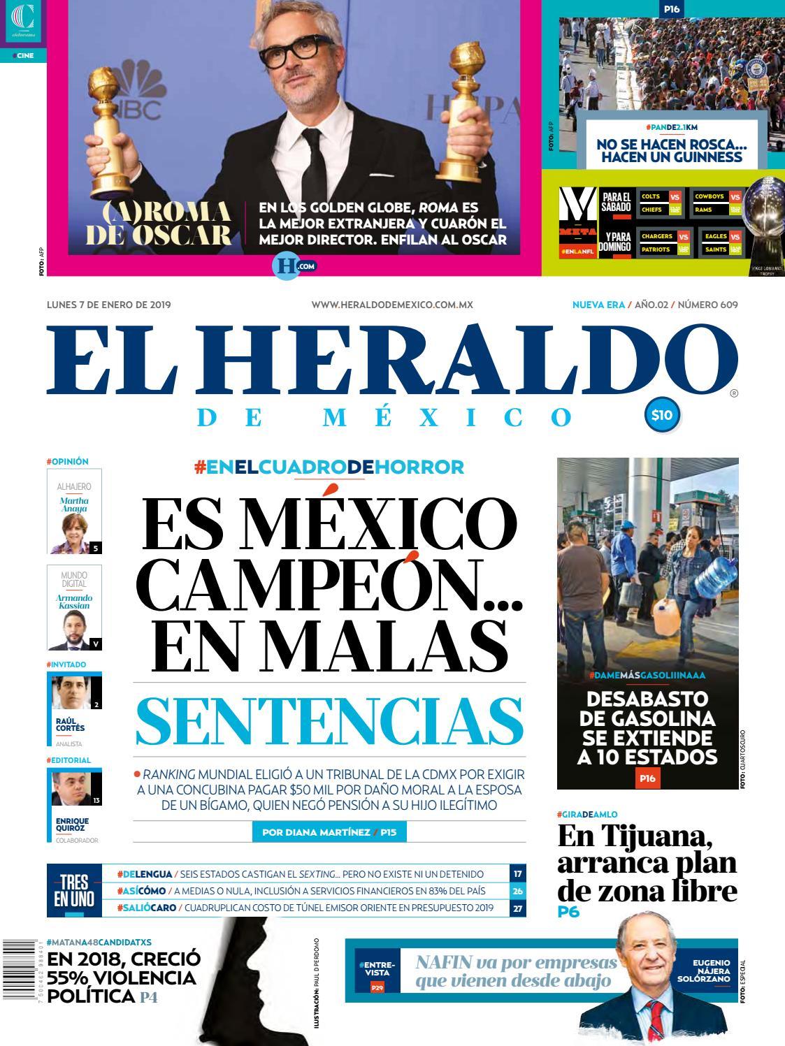 0bb66cbde 7 de enero 2019 by El Heraldo de México - issuu