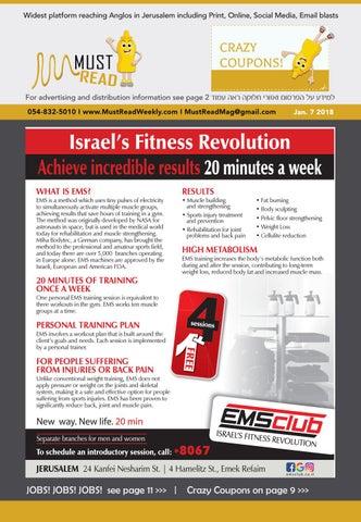 Must Read Weekly Jerusalem by Bizness Magazine - issuu