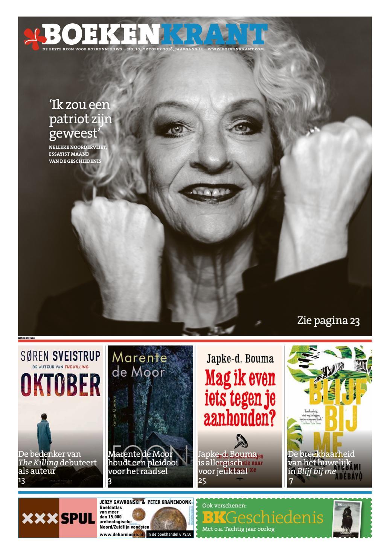 Boekenkrant Oktober 2018 By Redactie Boekenkrant Issuu