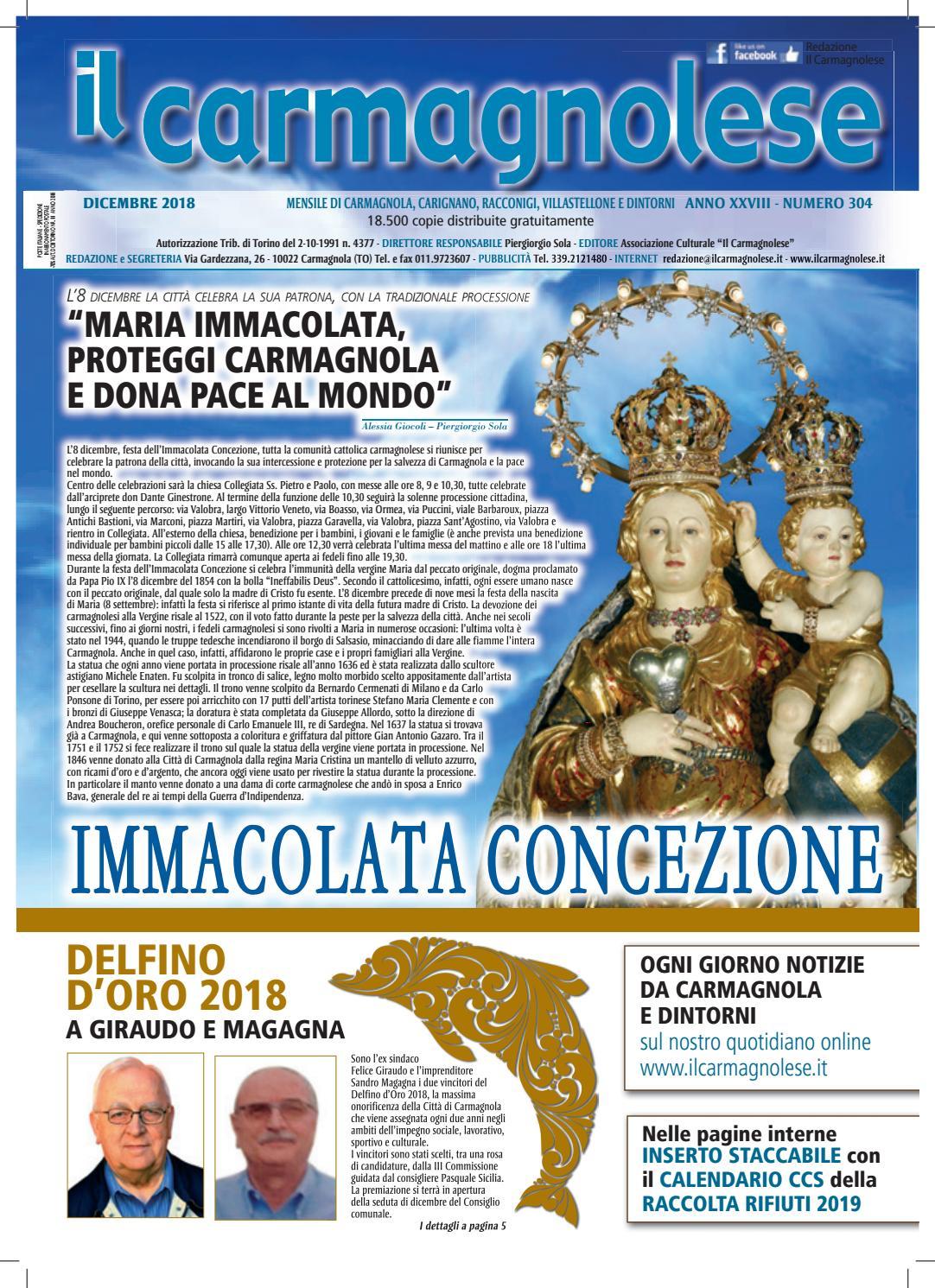 Il Carmagnolese Dicembre 2018 by Redazione Il Carmagnolese - issuu 321b6150788