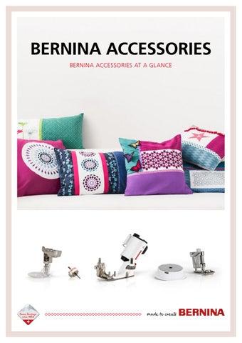 BERNINA accessory catalogue - English by Bernina