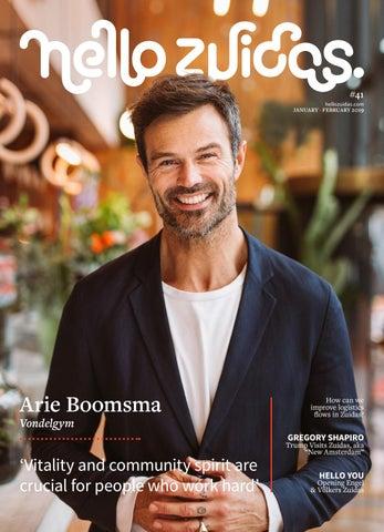 Hello Zuidas - Januari/Februari editie 2019 by Zuidas Publishers - issuu