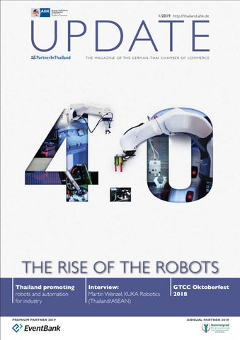 UPDATE Q1/2019: The Rise of the Robots by German-Thai Chamber of